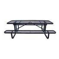 8' Standard Expanded Metal Picnic Tables
