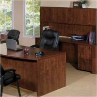 Essentials Office Suite Ensemble in Cherry - Choose Components