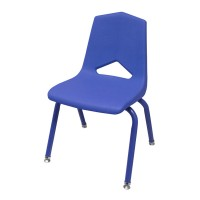 MG1101 V-Back Stack Chairs with Powder Coat Colored Frame by Marco Group