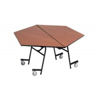 "48"" Hexagon AmTab MHX48 Mobile Table"