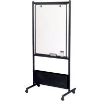 Nest Easel shown in black frame
