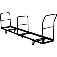 Vertical Storage Folding Chair Dolly - 2 Capacity Options