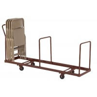 NPS 4-Wheel Dolly for use with NPS Folding Chairs - Holds up to 35 Chairs Vertically - DY-35