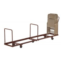 NPS 4-Wheel Dolly for use with NPS Folding Chairs - Holds up to 50 Chairs Vertically - DY-50