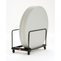 "NPS Folding Table Dolly - Round - 60"" Maximum Diameter - Holds up to 10 Tables - DY60R"