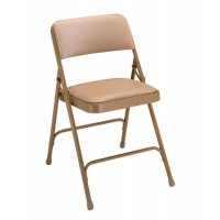 NPS 1200 Series Vinyl Upholstered Premium Folding Chairs - Double Brace - Five Colors - Must Order in Multiples of 4