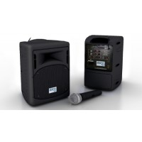 Oklahoma Sound Pro Audio 40 Watt PA System - Handheld Wireless Mic - PRA-8000