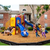 UPlayToday UPLAY-005-P Timber Glen Play Structure for Ages 5-12