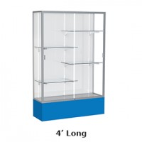 Waddell Spirit Series 374 Floor Display Case 4' Length - Multiple Options