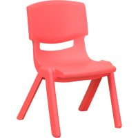 Plastic Stackable School Chair with 10.5'' Seat Height - 3 Seat Options