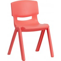 Plastic Stackable School Chair with 13.25'' Seat Height - 3 Seat Options