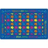 Flagship Carpets Reach for the Stars Educational Rug in Indigo - 3 Sizes