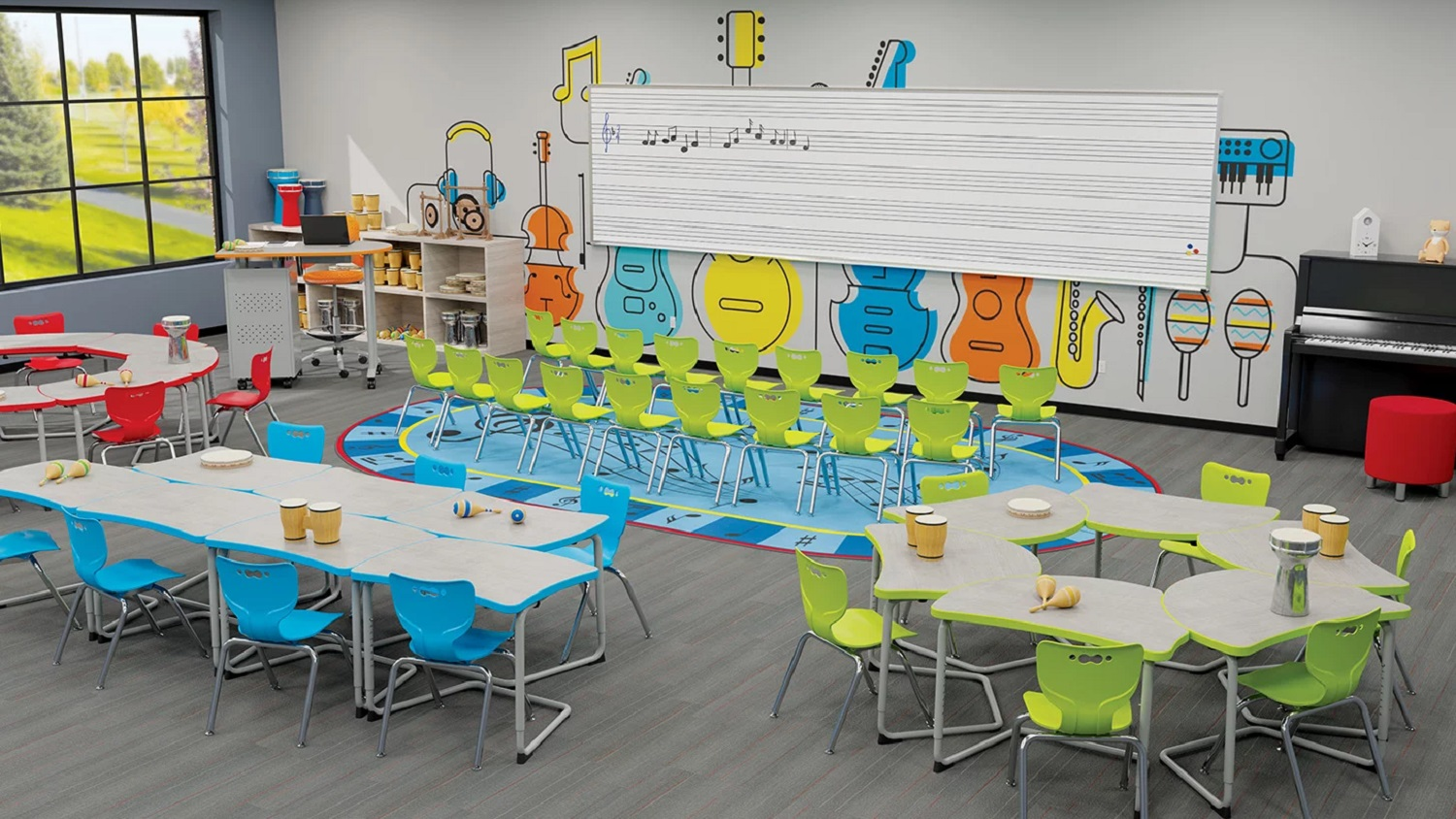 Music Classroom - Hierarchy Series