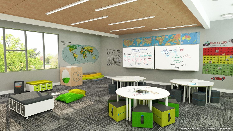 Collaborative Flexible Elementary Classroom