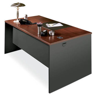 HON 38000 Steel Desk with Laminate Top