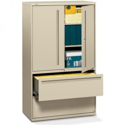 """HON 700 Series 2-Drawer Storage Case Lateral File, 42"""" - Various Colors"""