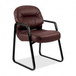 """HON 2090 Series Sled Base Guest Chair, 23¼"""" x 27¾"""" x 36"""" - Various Colors"""