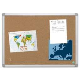 Bi-silque Aluminum Frame Recycled Cork Boards - Multiple options