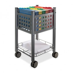 Vertiflex Files Carts, Gray - Multiple options