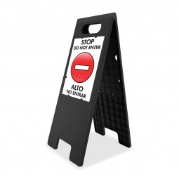 U.S. Stamp & Sign Double Sided Tent Sign