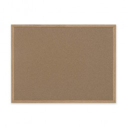 Bi-silque Recycled Cork Bulletin Board, 3' x 4'