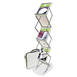 Deflect-O Collapsible Literature Floor Stand