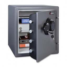 "Sentry Business Fire Safe, 16³⁄₁₀"" x 19³⁄₁₀"" x 17⅘, 1.23 Cubic Feet, Black"