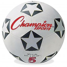 Champion Sports Soccer Ball - Size 5 - Set of 5