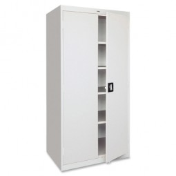 Lorell Steel Storage Cabinets, Light Gray - Multiple options