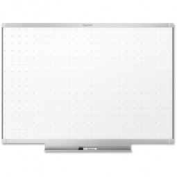 Quartet Total Erase WhiteBoard, with Marker, Tray, 4' x 3', Aluminum