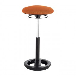 Orange Twixt® Active Seating Chair - Extended-Height - Safco Products 3001OR