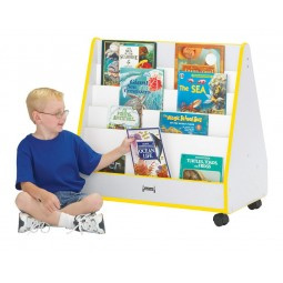 Jonti-Craft Rainbow Accents Pick-a-Book Stand - Mobile - Multiple Edge Colors