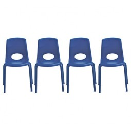 Set of 4 MyPosture™ Preschool Chairs - Select Size and Color
