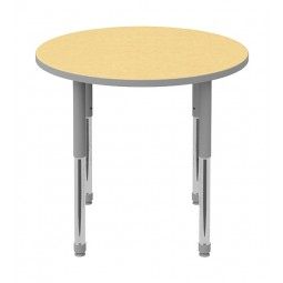 "42"" Round Artcobell Discover Shape Table DTT-RD42E"