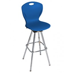 D99X - A+ (Extra Wide) Shell Discover Four Leg Swivel Stool - Artcobell