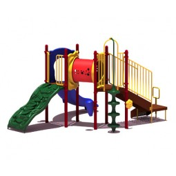 UPlayToday UPLAY-002-P Deer Creek Play Structure for Ages 2-5 or 5-12
