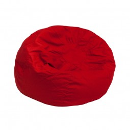 Red - Small Bean Bag Chair