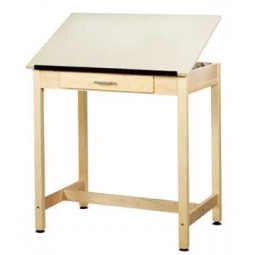 Art/Drafting Table, One Piece Top - 2 Heights