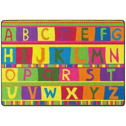 ABC Tapestry Educational Rug