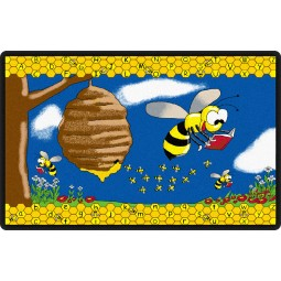 Busy Bees Educational Rug