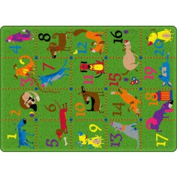 Dog Pack Educational Rug