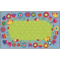 Good Morning Garden Educational Rug