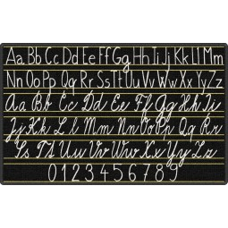 Handwriting Samplers Educational Rug