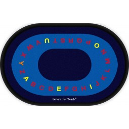 Letters That Teach Educational Rug