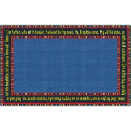 The Lord's Prayer Faith-Based Rug