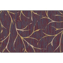 Moreland Plum Wine Office Rug