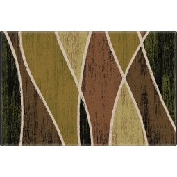 Waterford in Green Office Rug
