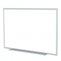 M3 Aluminum Frame Painted Steel Magnetic Whiteboards by Ghent