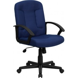 Mid-Back Executive Chair with Nylon Arms - 5 Seat Options