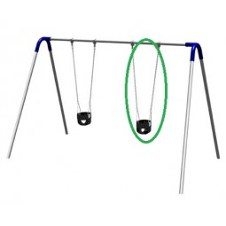 UPlayToday 02-07-0101 Infant Swing Seat, Chains, Hangers and S Hooks